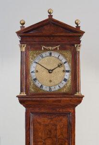 Samuel Knibb Princes Wood Longcase Clock, c 1665-70